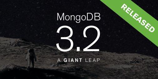 MongoDB 3.2 foi lançado